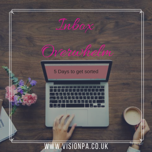 Beat email overwhelm with visionpa.co.uk